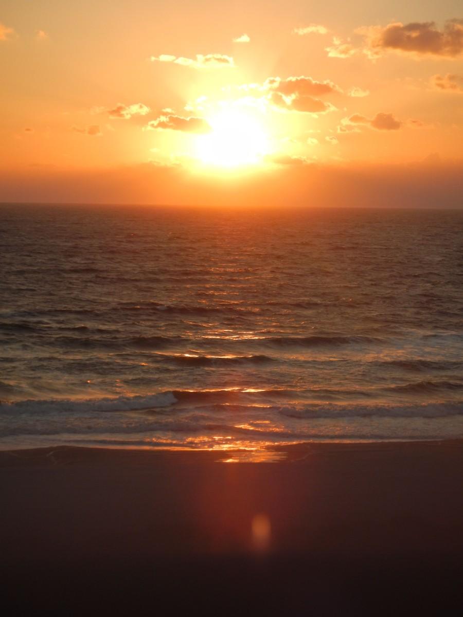Beautiful Morning on the Ocean